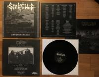 SCALPTURE - 12'' LP - Panzerdoktrin (Black Vinyl, limited to #98)