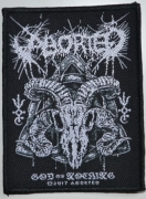 ABORTED - God Of Nothing - woven Patch