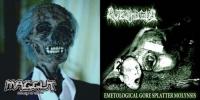 AUTOPHAGIA / MAGGUT - split CD -