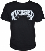 AVULSED -T-Shirt- Logo - Size L