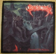 BENEDICTION - Transcend The Rubicon - Printed Patch