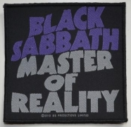 BLACK SABBATH - Master Of Reality - woven Patch