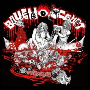 BLUE HOLOCAUST - 3''MCD - Feeding Fury (Feral Practices)