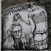 BURNING BUTTHAIRS - CD - Blowjob Sisters