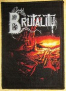 BRUTALITY - When the Sky Turns - Woven Patch