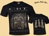 Bundle: COCK AND BALL TORTURE - Cocktales - CD + T-Shirt