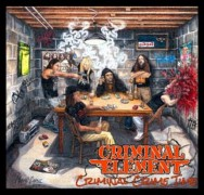 CRIMINAL ELEMENT - 12'' LP -  Criminal Crime Time