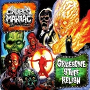 GRUESOME STUFF RELISH / CROPSY MANIAC - split 3'' CD -