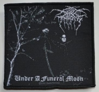 DARKTHRONE - Under A Funeral Moon - woven Patch