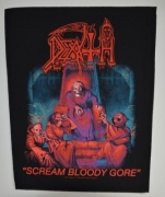 DEATH - Scream Bloody Gore - Backpatch