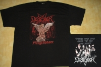 DESASTER - Angelwhore - T-Shirt - size XXL (2nd Hand)