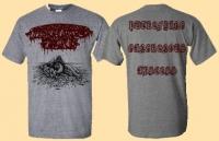 DISGORGED FOETUS - grey T-Shirt size XL