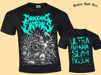 DRAGGING ENTRAILS - Ultra Guttural Slam Dozer - T-Shirt