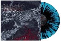 DEVANGELIC - 12'' LP - Phlegethon (turquoise + black splattered Vinyl)