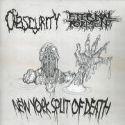 ETERNAL TORMENT / OBSCURITY - CD - New York Split of Death