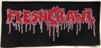 FLESHCRAWL - Logo - woven Patch
