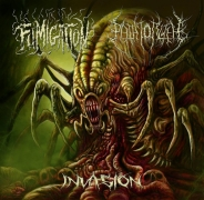 FUMIGATION / THE PATH TO R'LYEH - split CD -