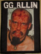 GG ALLIN - printed fullcolor Patch