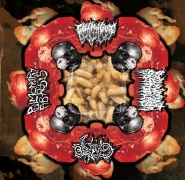 GOLEM OF GORE / REDUNANT PROTOPLAM / GORE (Br) / PULMONARY FIBROSIS - 4way split CD -