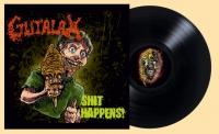 GUTALAX - 12'' LP - Shit Happens (reissue Black Vinyl) (Pre-Order 15th april 2021)