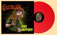 GUTALAX - 12'' LP - Shit Happens (reissue Red Vinyl) (Pre-Order 15th april 2021)