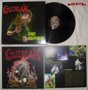 "GUTALAX -12"" LP- Shit Happens (BLACK VINYL)"