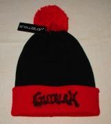 GUTALAX - Snowstar® Two-Tone Beanie red - black Logo