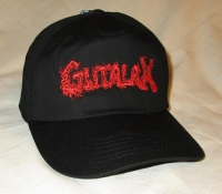 GUTALAX - black Baseball Cap - red Logo