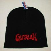 GUTALAX - black Beanie - red Logo