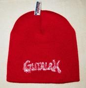 GUTALAX - classic red Beanie - white Logo