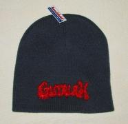 GUTALAX - graphite grey Beanie - red Logo