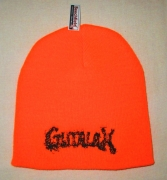 GUTALAX - savty orange Beanie - black Logo