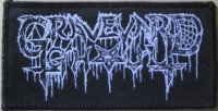 free at 25€+ orders: GRAVEYARD GHOUL - Logo - Woven Patch
