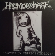 HAEMORRHAGE - Cardboard Slipcase CD - Grotesque Embryopathology