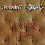 HAEMORRHAGE / IMPALED - split Digipak CD - Dementia Rex
