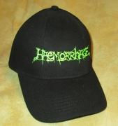 HEAMORRHAGE - green Logo - Baseball Cap