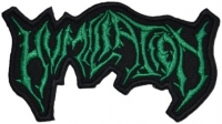 HUMILIATION - Logo Cut Out - embroidered Patch