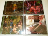 Bundle 4 CDs: UxLxCxM + CREATURES FROM THE TOMB + PORNTHEGORE + MATANZA