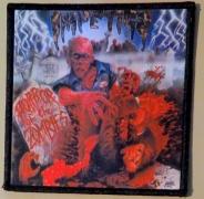 IMPETIGO - Horror of the Zombies - printed Patch