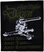 JUST BEFORE DAWN - Anti-Everything - woven Patch