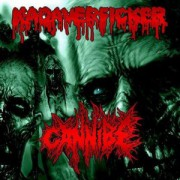 KADAVERFICKER / CANNIBE -split CD-