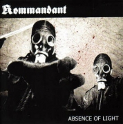 KOMMANDANT / NOMINON - split 7'' EP - Absence Of Light / Impaling The Nazarene