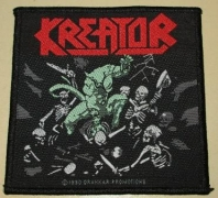 KREATOR - Pleasure to Kill - woven Patch