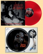 LAST DAYS OF HUMANITY -12'' LP + Slipmate - Horrific Compositions of Decomposition (Clear Red Vinyl) (Pre-Order 23th april 2021)