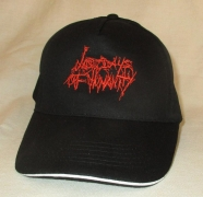 LAST DAYS OF HUMANITY - Black Cap - Red Logo