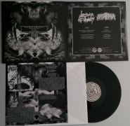 LAST DAYS OF HUMANITY / STOMA - split 12'' - (black Vinyl)