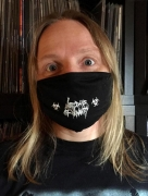 free at 50€+ orders: LAST DAYS OF HUMANITY black Facemask