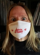 free at 50€+ orders: LAST DAYS OF HUMANITY white Facemask
