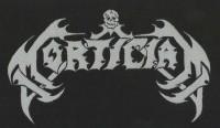 MORTICIAN - woven Logo Patch