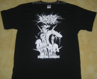 NO ONE GETS OUT ALIVE - Hunting Humans - T-Shirt size XXL (2nd Hand)